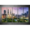 Többrészes Kuala Lumpur vászonkép 048 - (választható formák)
