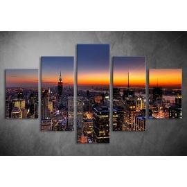 Többrészes New York vászonkép 058 - (választható formák)