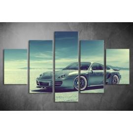Többrészes Porsche vászonkép 011 - (választható formák)