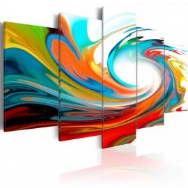 Kép Colorful swirl