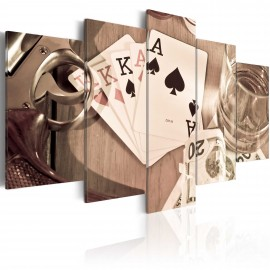 Kép Poker night sepia