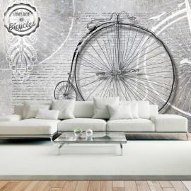 Fotótapéta Vintage bicycles black and white