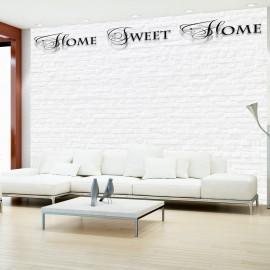 Fotótapéta Home, sweet home white wall