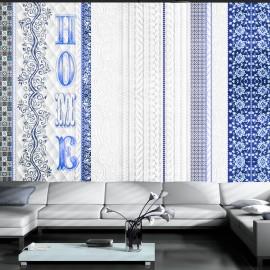 Fotótapéta Vintage home blue