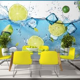Fotótapéta Refreshing lemonade