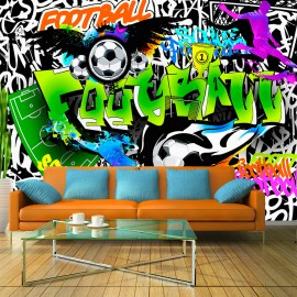 Fotótapéta Football Graffiti