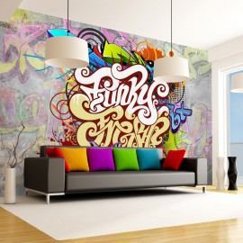 Fotótapéta Funky Graffiti
