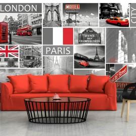 Fotótapéta London, Paris, Berlin, New York