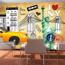 Fotótapéta One way New York