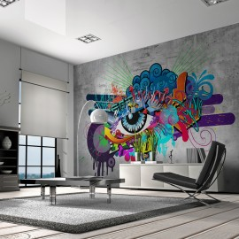 Fotótapéta Graffiti eye