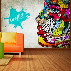 Fotótapéta Graffiti beauty