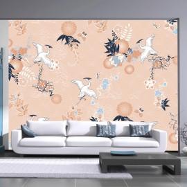 Fotótapéta Dance of herons