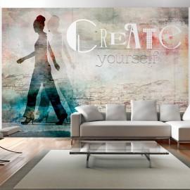 Fotótapéta Create yourself