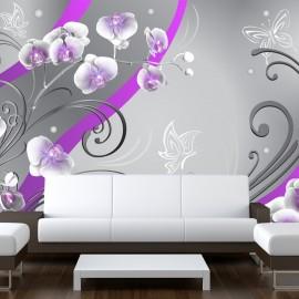 Fotótapéta Purple orchids variation
