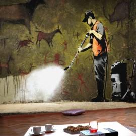 Fotótapéta Banksy Cave Painting