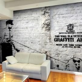 Fotótapéta Banksy Graffiti Area