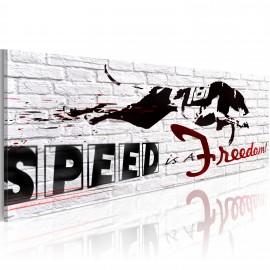 Kép Speed is freedom