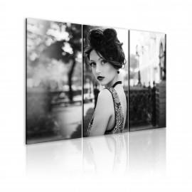 Kép An elegant woman, retro style