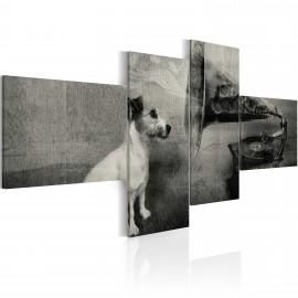 Kép A gramophone and a dog