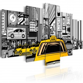 Kép Cartoon taxi