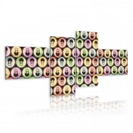 Kép Pop art colorful cans