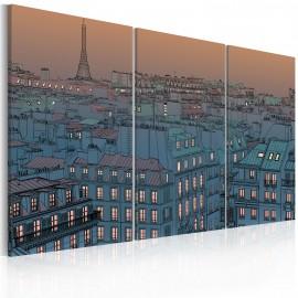 Kép Paris the city goes to sleep
