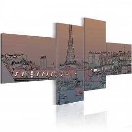 Kép Dusk and Paris