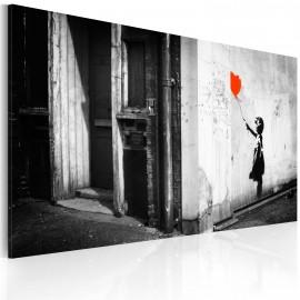 Kép Girl with balloon (Banksy)