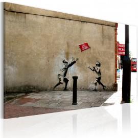Kép No ball games (Banksy)