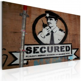 Kép Secured (Banksy)