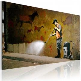Kép Whitewashing Lascaux (Banksy)