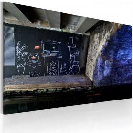 Kép My own piece of floor (Banksy)