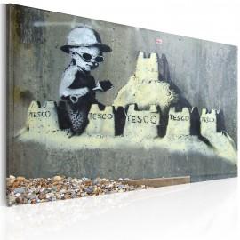 Kép Sand Castle (Banksy)