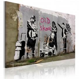 Kép Old school (Banksy)