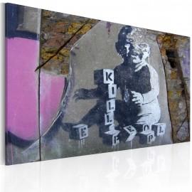 Kép Kill people baby (Banksy)