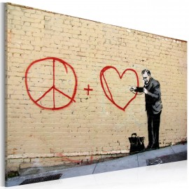 Kép Peace and love doctor (Banksy)