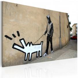 Kép Barking dog (Banksy)