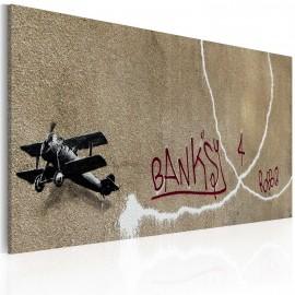 Kép Love plane (Banksy)
