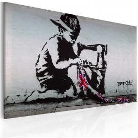 Kép Union Jack Kid (Banksy)
