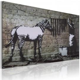 Kép Zebra mosás (Banksy)