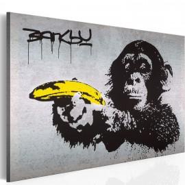 Kép Állj, vagy lő a majom! (Banksy)