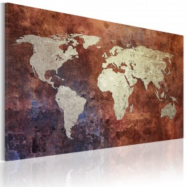 Kép Rusty map of the World