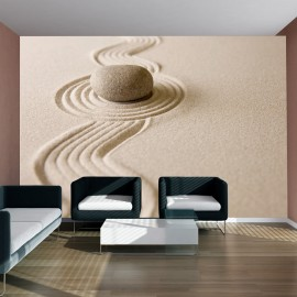 Fotótapéta Zen homok kert