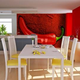 Fotótapéta Red hot chili pepper