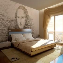 Fotótapéta Mona Lisa gondolatai