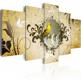 Kép Yellow bird singing