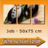 """Vászonkép - """"Triple"""" - 3db-os - 50x75cm"""