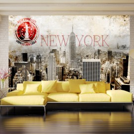 Fotótapéta New York POST AGE STAMP