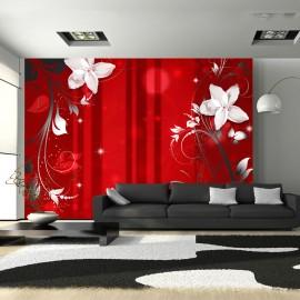 Fotótapéta Flowering scarlet
