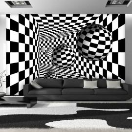 Fotótapéta Black & White Corridor